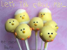 Pint Sized Baker: Chick Pops