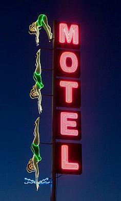 Motel in Mesa, AZ - Retro sign