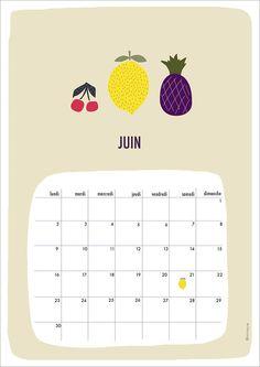Free Printable Calendar June 2014