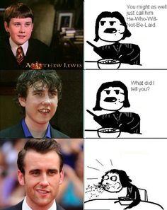 Neville Longbottom grows up.