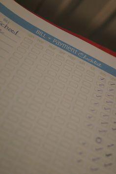 Organizing Finances - Home Binder Part 4