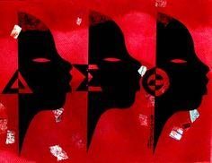 Crimson Vibes    Delta Sigma Theta