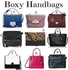 Fall Handbags: Boxy Bag