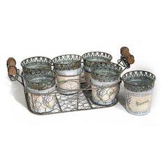 Vintage Primavera Plant Pot Tray Holder, $54 !!