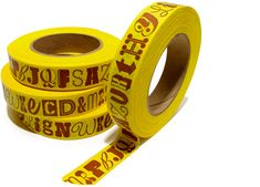 alphabet tape by House Industries
