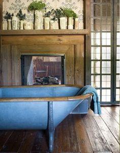 Blue tub is amazing...