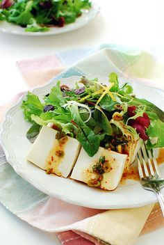 Recipe: Korean Tofu Salad