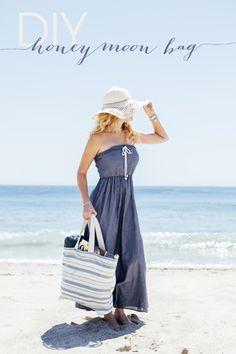 DIY Beach Bag