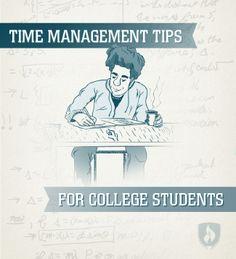 6 Time Management Tips for College Students via @jessmscherman  #college #timemanagement