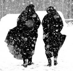 winter walk in Lancaster Pa