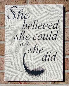 Home Office Decoration. I think I could make this with modge podge, canvas, and clippings!!