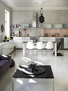 love the eclectic style