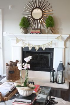 Possible fire place ideas Williams Home   Holly Mathis Interiors