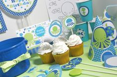Ocean birthday party