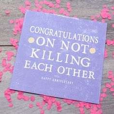 17th Anniversary! on Pinterest Funny Anniversary Cards, Anniversary ...