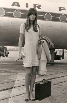 Françoise Hardy françois hardi, jet planedont, plain pretti, ideal closet, little white dresses
