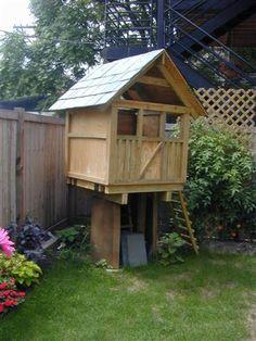 custom Kids tree house - JMC