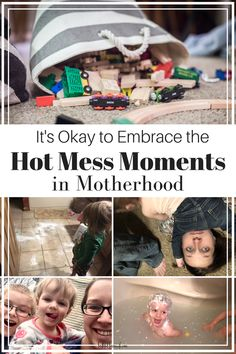 Motherhood is messy