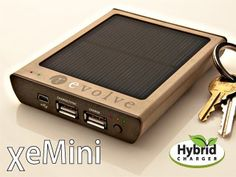 How to Keep Electronics Going With No Power - David Pogue, tech columnist for the New York Times survived Sandy by using this: Revolve XeMini solar charger for USB.