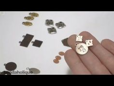 How to Make Personalized Jewelry Tags - YouTube