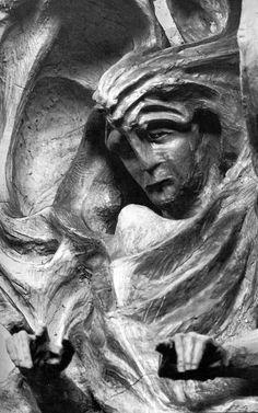 Sculpture by Rudolf Steiner.
