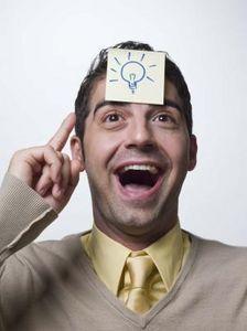 aha; switching on lightbulb   (@Jane Bozarth Learning/Teaching Metaphors)