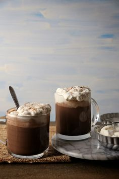 Cinnamon infused hot chocolate #CoffeeMillionaires #Success #HotChocolateLovers #ilovemyjob