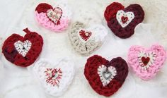 Lots of ideas for these special hearts!