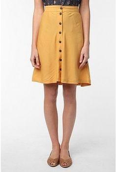 UrbanOutfitters.com > Kimchi Blue Library Skirt - StyleSays