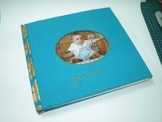 Album de fotos - Batismo de fotografia, álbun de, album de, livro artesanai