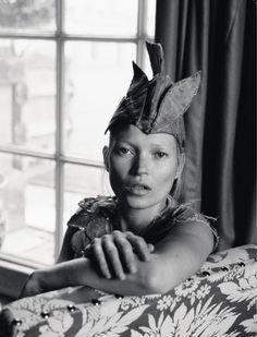 Kate Moss by Tim Walker in LOVE magazine.