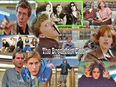 """The Breakfast Club"" ~ An absolutely awesome movie..."