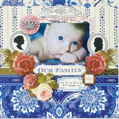 scrapbook layouts, annagriffin, griffin scrapbook, anna griffin, willow collect, totten griffin