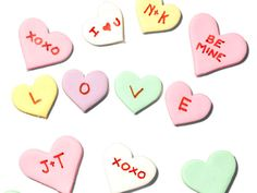 Forget store-bought! Make your own conversation hearts for your Valentine with this top-secret recipe from #FNMag. MYbe they wont be chalky