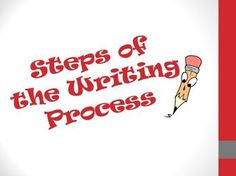 FREE Steps of the Writing Process PowerPoint. Great for students in grades 2-5!