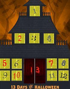 13 Days of Halloween Advent Calendar   Education.com