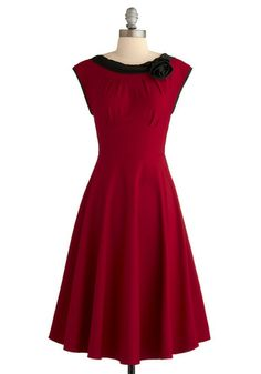 Like it #red #dress #party #holiday #Christmas #new years