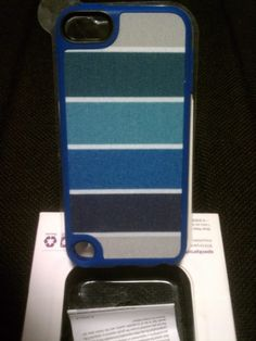 Speck Fabshell for IPod Touch 5th Generation Cover - Arctic Blue Retail 29.99!!!