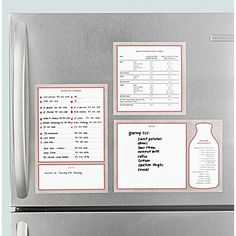 Kitchen Organization 101: Keep shopping lists, important numbers and cooking measurements handy with dry erase decals. #MarthaStewartHomeOffice #affordable #kitchenorganization