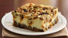 Oatmeal Raisin Cheesecake Crumble... I think I came.