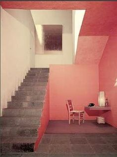 interior, architects, mexico city, color schemes, pink rooms