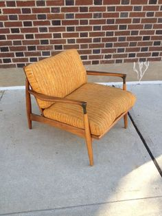 Mid Century Chair by bcdrygoods on Etsy, $385.00