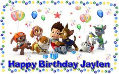 Paw Patrol Frosting  sheet cake topper by CustomImageboutique, $9.99