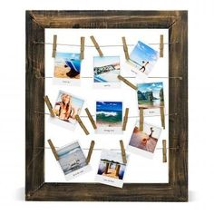 This site turns your online pictures into polaroids or collages.  It takes them right from instagram, computer, facebook, etc...
