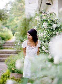 Spring Bride #albertaferretti #forever #collection #bridalcollection #weddingdress #dress #wedding #love