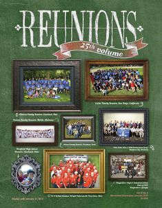 Reunions magazine Winter issue V25n2 now available! Celebrating our 25th volume! The winter issue features many and varied reunions, particularly family and military, which we hope will inspire you and give you new ideas for your own reunion planning. A focus of this issue is fundraising including quilts and cookbooks, projects that require extra time to produce. Also featured are ranches that host reunions ideal for intimate, immediate family or single generation/cousins reunions.