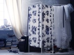 DIY with IKEA - Create a custom removable fabric cover for the JORDET room divider & personalize to your taste!