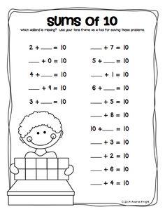 teaching math making tens on pinterest making ten making 10 and math coach. Black Bedroom Furniture Sets. Home Design Ideas