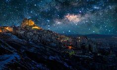 amaz landscap, favorit place, starry nights, starri night