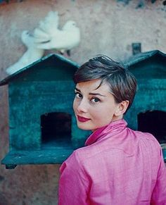 Audrey Hepburn | photographed by P.Halsman at La Vigna, Italy | This photo was the LIFE Magazine cover on July 18, 1955 | Copyright © Halsman Estate.